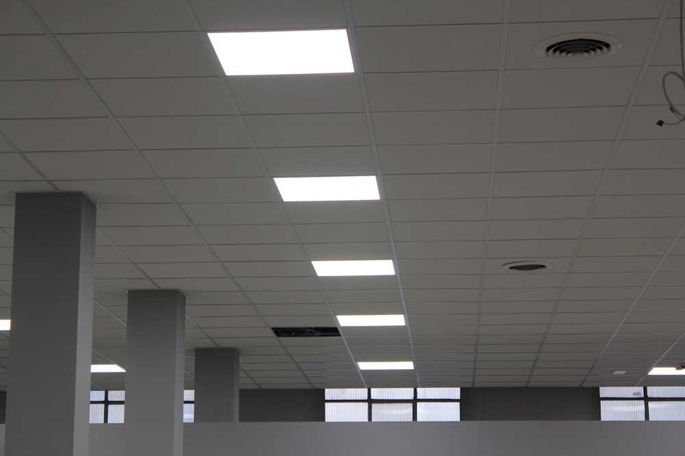 illuminazione negozio