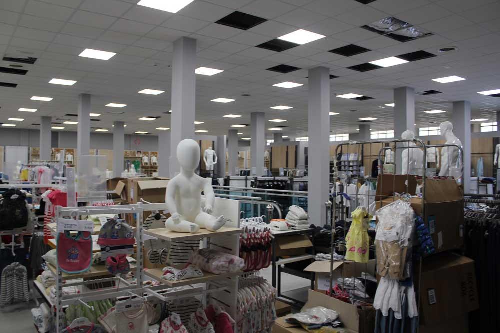 illuminazione negozio Valle di Susa