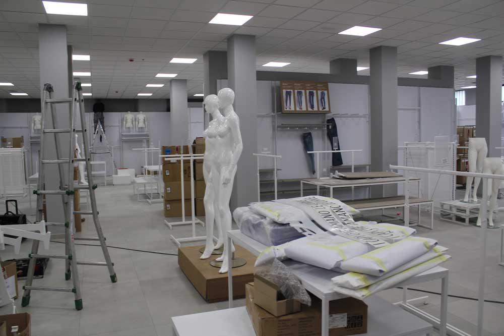 impianti speciali per ristrutturazione negozio