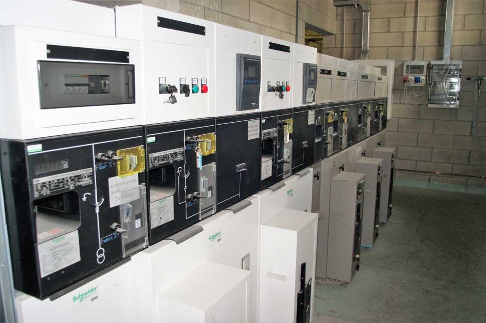 impianto elettrico stabilimento industriale