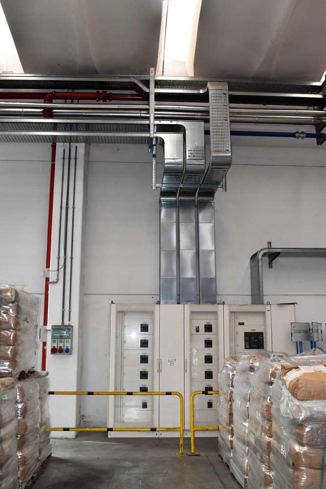 impianto speciale industriale